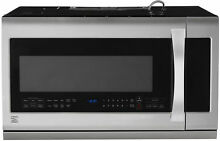 Kenmore Elite Microwave Oven Over the Range 87583 2 2 cu  ft  Stainless steel