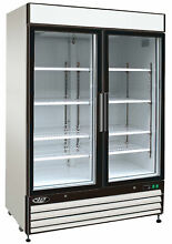Maxx Ice X Series Merchandiser 48 cu  ft  All Refrigerator