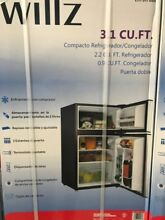 Willz 3 1 Cu  Ft   Compact Refrigerator   Freezer   Energy Saver