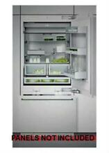 Gaggenau 30  Motorized Shelf Integrated Bottom Freezer Refrigerator RB472701
