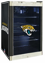 Glaros NFL 4 6 cu  ft  Beverage center Jacksonville Jaguars