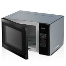 1 1 cu ft 1000W Programmable Countertop Microwave Oven LED Display Home Use US