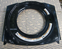NEW Whirlpool Front Washer Panel  Black  Part  W10128427