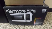 Kenmore Elite 79393 2 2 cu  ft  Countertop Microwave Oven with Inverter SEALED