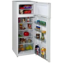 Avanti RA7306WT 2 Door Apartment Size Refrigerator  White