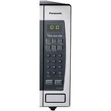 Panasonic Genius Sensor 2 2 Cu  Ft  1250W Countertop Built In Microwave Oven wit