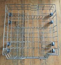 GE Dishwasher Dish Washer Lower Rack WD28X10388 w  Wheels WD28X10408
