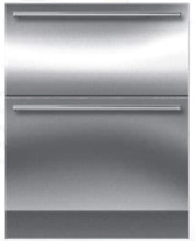 Sub Zero ID 27R 27  Integrated Double Drawer Refrigerator Stainless Steel