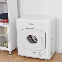 1400W Electric Tumble Compact Laundry Dryer Stainless Steel Wall Mounted White