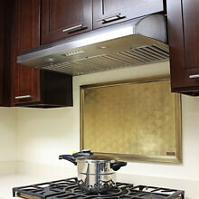 KOBE CH2230SQB 5 Deluxe 30  Under Cabinet Range Hood  6 Speed  640 CFM  LED