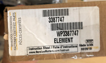 WP3387747 Heating Element for Whirlpool Kenmore Dryer 3387747 new unopened