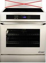 Dacor Renaissance 30 Inch 4 SimmerSear Zones Slide In Induction Range RR30NIS