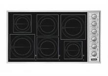 Viking Professional Serie 36  6 Burners Elements Induction Cooktop VICU2666BSB