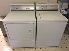 Speed Queen Washer   Gas Dryer Set AWNE82SP and ADGE8RGS