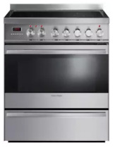 Fisher   Paykel OR30SDPWIX1 30 Inch Freestanding Induction Range
