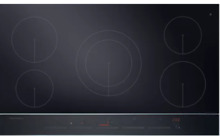 Fisher   Paykel CI365DTB2 36 Inch Electric Induction Cooktop w 5 Cooking Zones