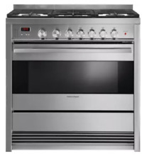 Fisher   Paykel OR36SDBMX1 36 Inch Freestanding Gas Range Stainless Steel
