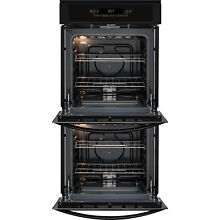 Kenmore 40259 24  Electric Manual Clean Double Wall Oven   Black  NIB