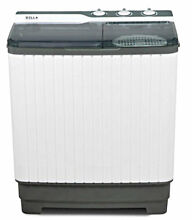 Top Load Washer and Spin Dryer Combo Portable Mini 27lbs Stackable Machine Gray