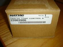Maytag Washer Temp Control Board 22003906  Genuine Factory Parts   New