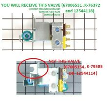 GENUINE KENMORE Refrigerator Water Ice Valve 12544118 for MAYTAG WP67006531