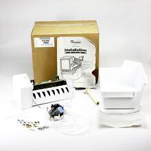 WPW10315447 For Whirlpool Refrigerator Add on Icemaker Kit