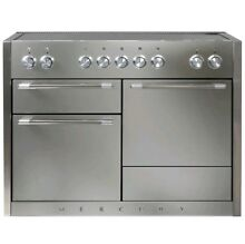 Mercury 48  Free Standing Electric Range 3 Ovens 5 Burners Stainless Steel