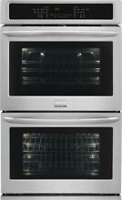 Frigidaire Gallery Series 27  Quick Preheat Double Electric Wall Oven FGET2765PF
