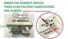 7 5   9 3A Whirlpool Range Burner Control Switch for 3148953 PS336886 AP3029710
