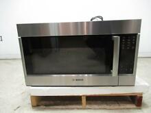 Bosch 800 Series 30  1 8 Cu Ft Over The Range SS Convection Microwave HMV8053U