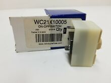 WC21X10005 GE TRASH COMPACTOR ON   OFF SWITCH  NEW PART