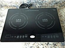 True Induction 21  Induction Cooktop with 2 Burners