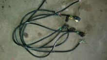 5 used 4 5 ft Black 30 amp  4 Prong Dryer Power Cord Cords