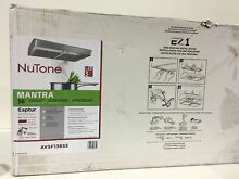 NuTone AVSF136SS Mantra 36 in  Convertible Range Hood Stainless Steel New