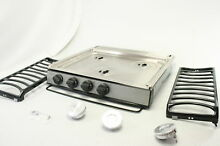 Atwood 52757 CA 35 S Slide In Cooktop Piezo Ignition Burner Stainless Steel
