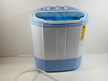 Upgraded Version Pyle Portable Washer   Spin Dryer  Mini Washing Machine PUCWM22