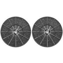 AKDY Range Hood Carbon Filter 2 Pack Replacement Ductless Ventless OEM Parts Set