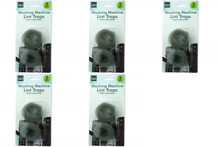 Swiss Clean 2 Pack Lint Traps for Washer and Dryer Lint Trapper for  Pack of 5