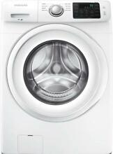 Samsung 27  8 Wash Cycles 4 2 cu  ft  White Front Load Washer WF42H5000AW