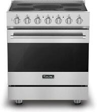 Viking 3 Series 30  4 7 cu  ft  Self Clean Stainless Electric Range RVER33015BSS