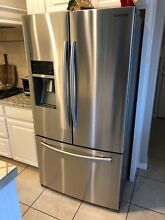Samsung RF23HCEDBSR French Door Refrigerator Stainless Steel Counter Depth