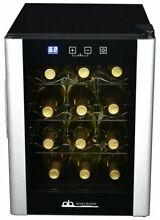 Avalon Bay 12 Bottle Single Zone Freestanding Wine Cooler