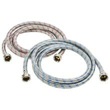 Washing Machine Hose Stainless Steel Braided Water Supply Line   Burst Proof
