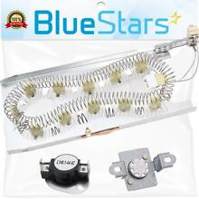 3387747   279973 Dryer Heating Element With Thermal Cut off Fuse Kit by Blue