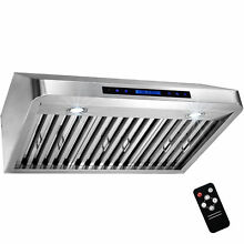 AKDY 30  Under Cabinet Stainless Steel Range Hood Kitchen Stove Vent