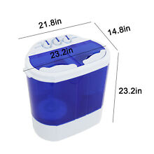 Quality Portable Mini Compact Twin Tub 10lb Washing Machine Washer Spin Dryer