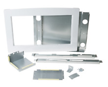 GE JX2030DMWW 30  Deluxe Built In Trim Kit for GE Countertop Microwaves White