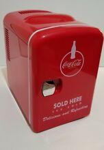 Coca Cola KWC 4 6 Can Mini Fridge   NIB