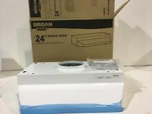 Broan 422401D White 24  Under Cabinet Range Hood With Damper New