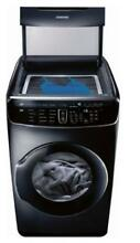 Samsung DVE60M9900V 7 5 cu  ft  Capacity FlexDry  Electric Dryer  Black